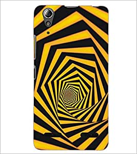 PrintDhaba Pattern D-5294 Back Case Cover for LENOVO A6000 PLUS (Multi-Coloured)