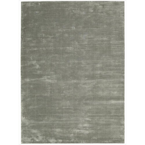 Calvin Klein Home Lunar LUN1 2.3-Feet by 7-1/2-Feet Rectangle Rug, Pewter