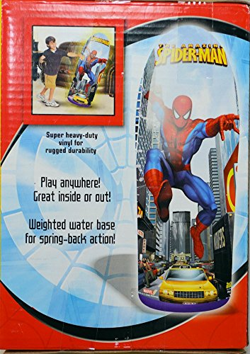 Socker Boppers Spider Man Inflatable 36 inch Bop Bag - 1