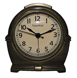 Antero Metal Alarm Clock (Antique Brass)