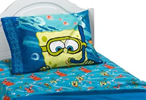 Sponge Bob Sea Adventure Full Sheet Set