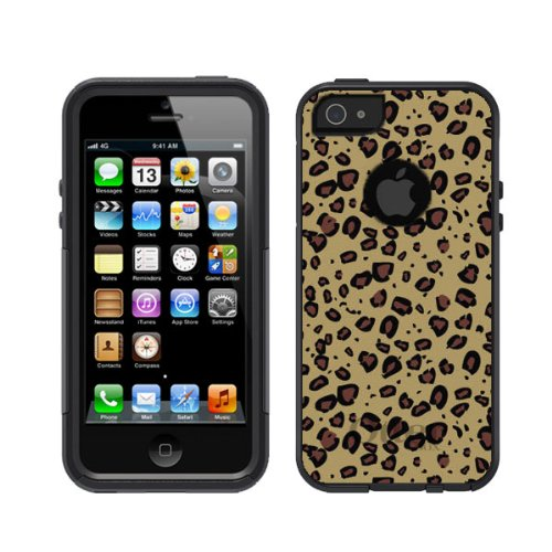 Great Price iPhone 5 5S Otterbox Commuter Series Black Cheetah Print