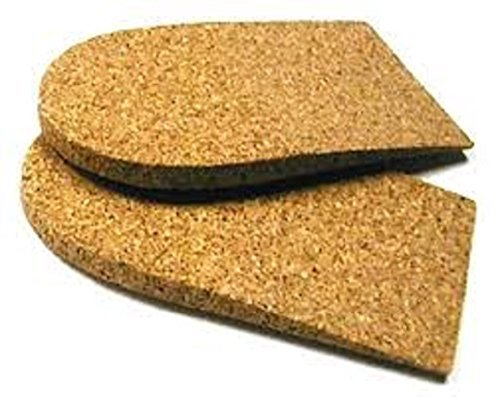 Cork Heel Lift (7mm) - Women 7-8, Youth 3.5-5 (Cork Shoe Inserts compare prices)