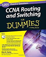 1,001 CCNA Routing and Switching Practice Questions For Dummies Front Cover