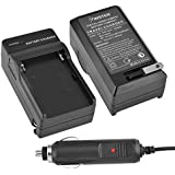 Insten® Battery Charger Compatible with Sony NP-FM500H DSLR-A200 A300 A350