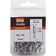Do it Best Global Sourcing 381667 Do it Best POP Rivets-1/8X1/8 ALUM RIVET