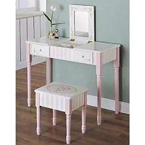 Fantasy Fields - Bouquet Vanity Table & Stool Set
