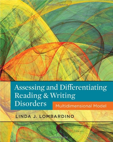 Assessing And Differentiating Reading And Writing Disorders: Multidimensional Model front-943183