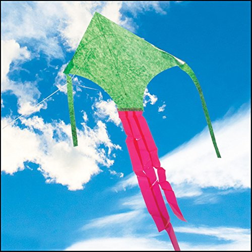 Green Mylar Dart Kite