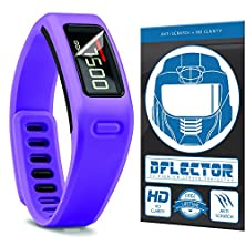 buy Dflectorshield Screen Protector For The Garmin Vivofit Fitness Band Heart Rate Monitor With Free Lifetime Replacement Program