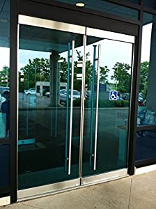 Apollo modern stainless steel sus304 entrance entry store for 1500mm patio doors