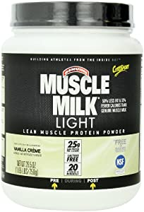 CytoSport Muscle Milk Light, Vanilla Creme, 1.65 Pound