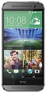 HTC One 2014 (M8) Smartphone 4G débloqué 5 pouces 16 Go Android 4.4 KitKat Gris Acier