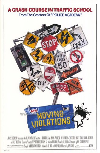 Moving Violations Film Poster