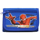 Marvel Spider-man Trifold Kids Wallet - Blue