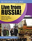 img - for Russian Stage One: Live from Russia: Volume 1 (Russian in Stages) book / textbook / text book