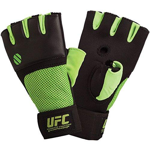 UFC Gel Gloves - Green/Black