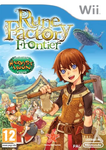 RUNE FACTORY FRONTIER (WII) [IMPORT ANGLAIS] [JEU WII]