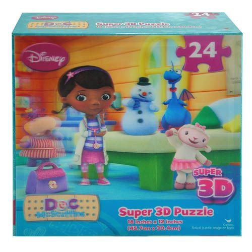 Disney Doc McStuffins Super 3D Puzzle - 1