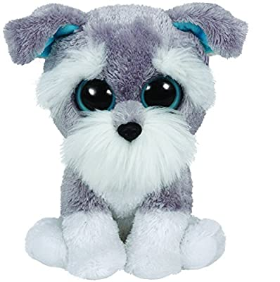 Ty Beanie Boos Whiskers - Schnauzer by Ty