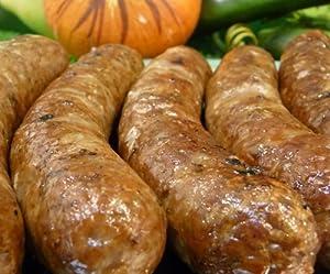 手作り生ビーフソーセージ 大7本入り(100%牛肉使用の牛肉ソーセージ・生タイプ)