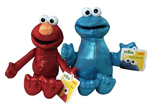 Elmo and Cookie Monster Backpack Clip Bundle (Potty Time With Elmo App compare prices)