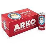 x12 PIECES (FULL BOX) ARKO SHAVING CR...