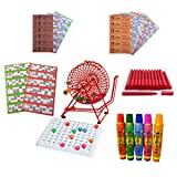 Bingo Cage, Check Tray & Balls Starter Kit - All you need to play Bingo