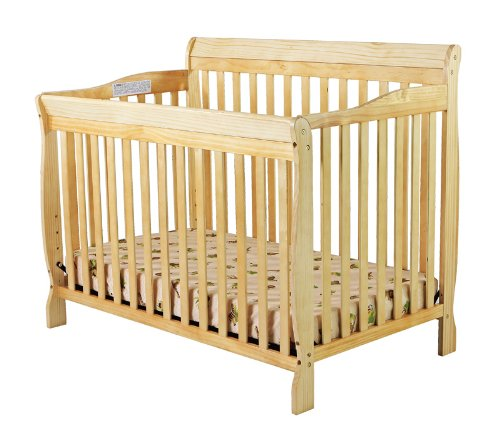 Dream On Me Ashton 5 in 1 Convertible Crib, Natural (Convertible Crib Natural compare prices)