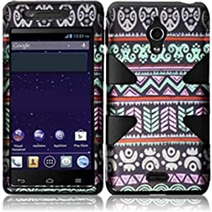 HR Wireless Huawei Vitria/H882L Dynamic Protective Cover - Retail Packaging - Elegant Aztec/Black