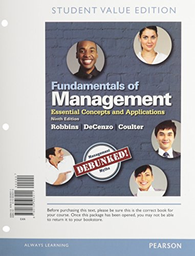 Top Questions from Management (10th Edition)