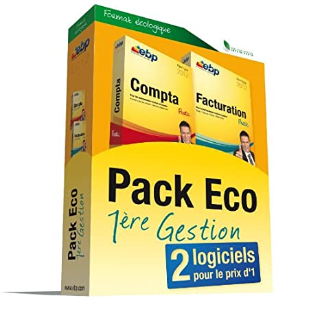 EBP Pack Eco 1ère Gestion 2012