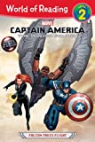 img - for Captain America: The Winter Soldier: Falcon Takes Flight (World of Reading) book / textbook / text book