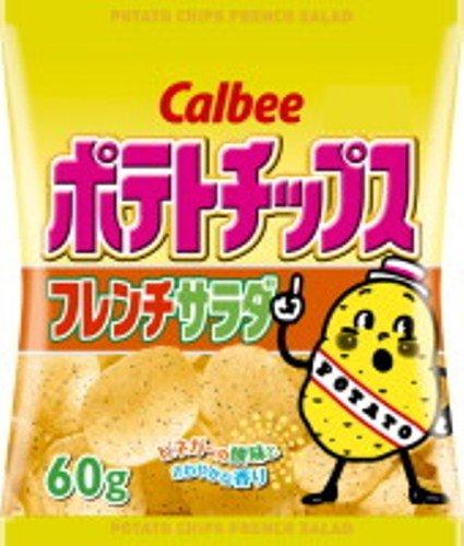 カルビー ポテトチップスフレンチサラダ 60g×12袋