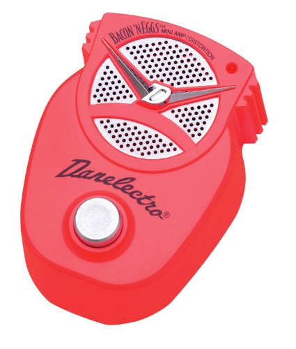 Danelectro Dj-16 Bacon & Eggs Mini Amp/Distortion Effects Pedal