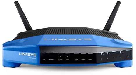 LINKSYS WRT1200AC-EU Routeur sans fil smart Wifi AC1200 Dual band Open source LINUX 4 ports Gigabit LAN,1 port Gigabit WAN 1 x USB 3.0 1 x eSATA/USB 2.0