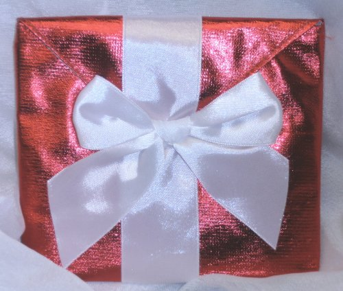 CD Envelope with Gift Card Holder - Choose From Red, Gold, or Silver
