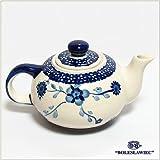 ポーリッシュポタリー/ティーポット(Boleslawiec/ボレスワヴィエツ陶器)