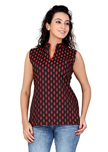Lifestyle Lifestyle Retail Women Cotton Lycra Printed Kurti (Multicolor)