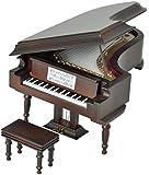 SUNRISE SOUND HOUSE サンライズサウンドハウス ミニチュア楽器 グランドピアノ 18cm 茶