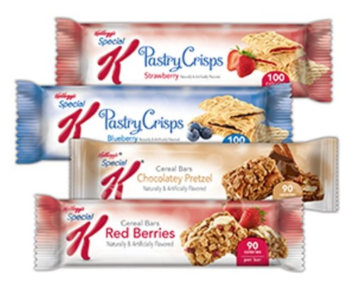 Special K Variety Bars Case, 0.77-0.88 Ounce Bars (Pack of 42)