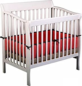 Riley Mini Crib by Delta - White