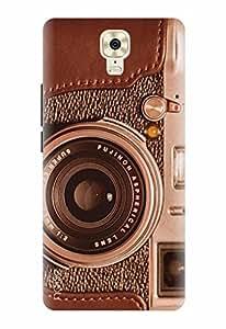 Noise Designer Printed Case / Cover for Gionee M6 Plus / Patterns & Ethnic / Camera Design