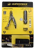 Leatherman Skeletool and V² Flashlight Combo