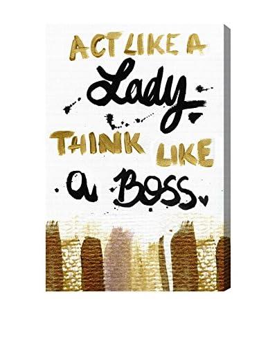 """Modernarte """"Boss Lady"""" Canvas Art"""