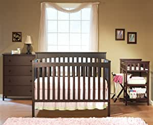 Sorelle Petite Paradise Nursery in a Box, Cherry (Discontinued by Manufacturer)