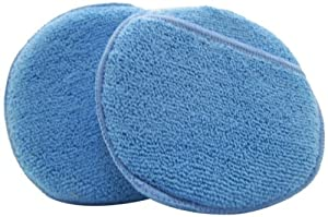 DeRoyal MFPAD5-3 Microfiber Terry Applicator Pad with Pocket, 5-Inch, 3-Piece