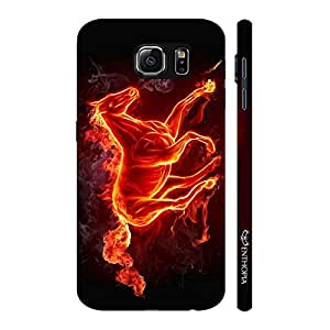 Enthopia Designer Hardshell Case Smoking Horse Back Cover for Samsung Galaxy Note 6
