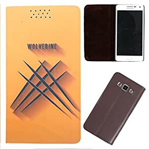 DooDa - For Samsung Galaxy S3 Mini PU Leather Designer Fashionable Fancy Flip Case Cover Pouch With Smooth Inner Velvet