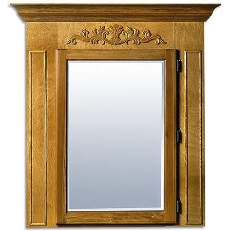Canby Savannah Medicine Cabinet, Standard, Unfinished, Left Hinge, Concealed Hinge, Wall Mount
